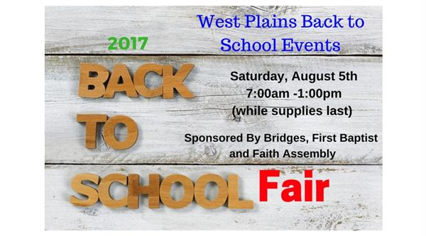 Back-to-School and Health Fair/Endurance Church Shoe Giveaway