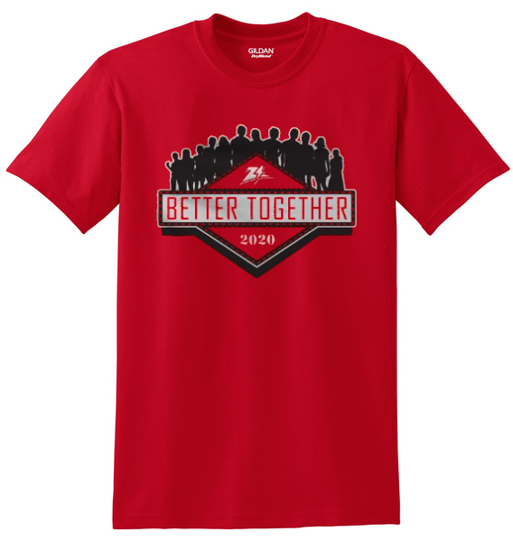 Zizzers Stronger Together T-shirts
