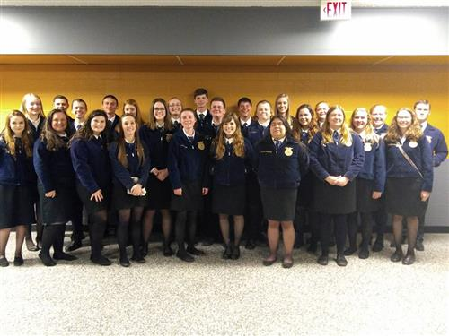 West Plains FFA receives Top Chapter Award