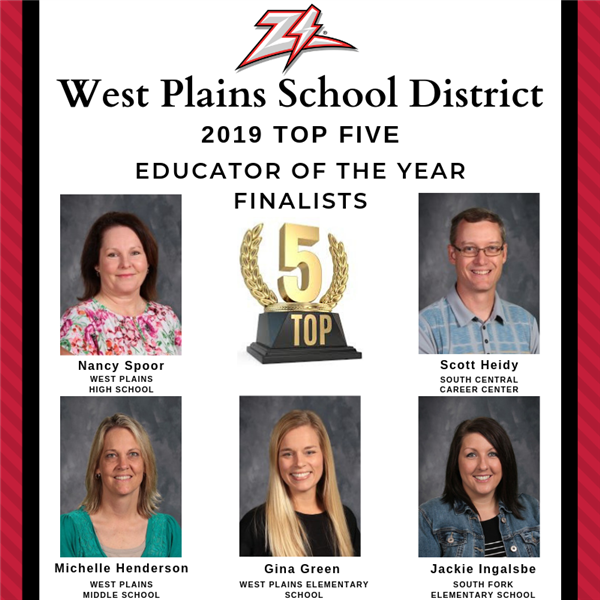 2019 West Plains School District Faculty & Staff Awards