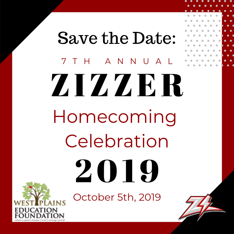 7th Annual Zizzer Homecoming Celebration - Save the Date!