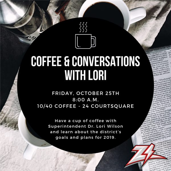 Coffee & Conversations with Lori - October 25th