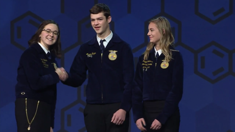 West Plains FFA Named Three Star Chapter from the National FFA