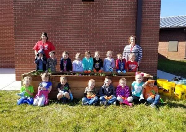 South Fork Preschool Gains Hands on Learning Through Donated Garden