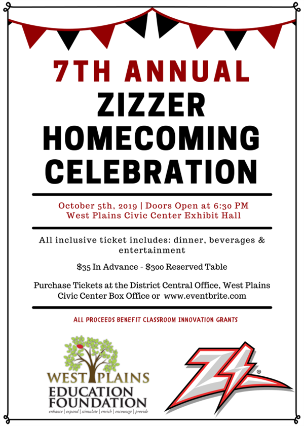 7th Annual Zizzer Homecoming Celebration