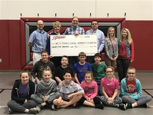 West Plains School District Receives $25,000 Donation from Anonymous Donor