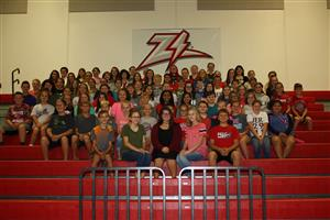West Plains Middle School Student Council