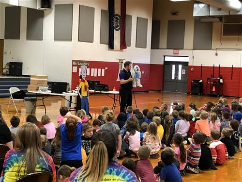 The NED Show Visits West Plains Elementary