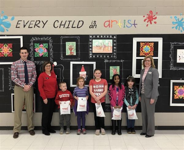 West Plains Elementary December Students of the Month
