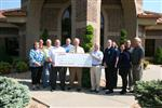 "West Plains Savings & Loan Contributed $5,000 to the ""Raising the Barn"" Campaign"
