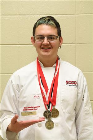 South Central Career Center Student Wins Gold Medal at FCCLA Star Events
