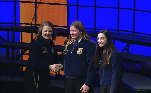 West Plains FFA Named 3 Star Chapter by National FFA