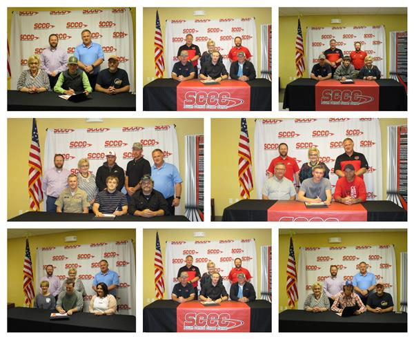 South Central Career Center Hosted National Signing Day Event to Honor High School Students Pursuing a Career in the Skilled Trades