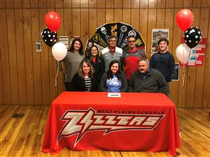 Softball Standout Signs with Barton Community College