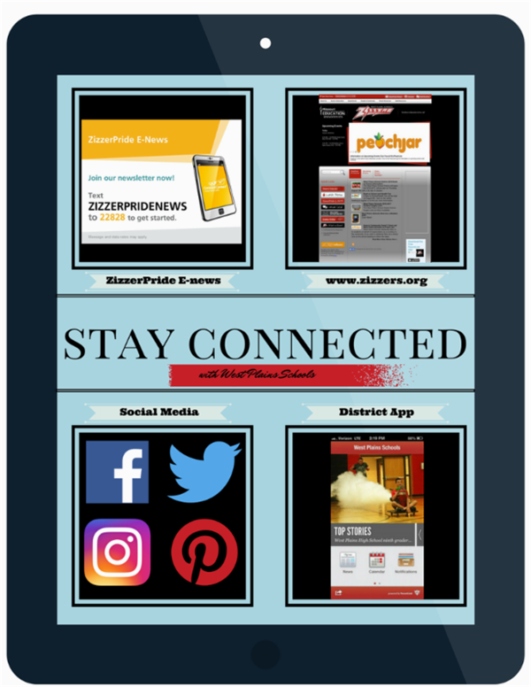 Stay Connected with the West Plains School District