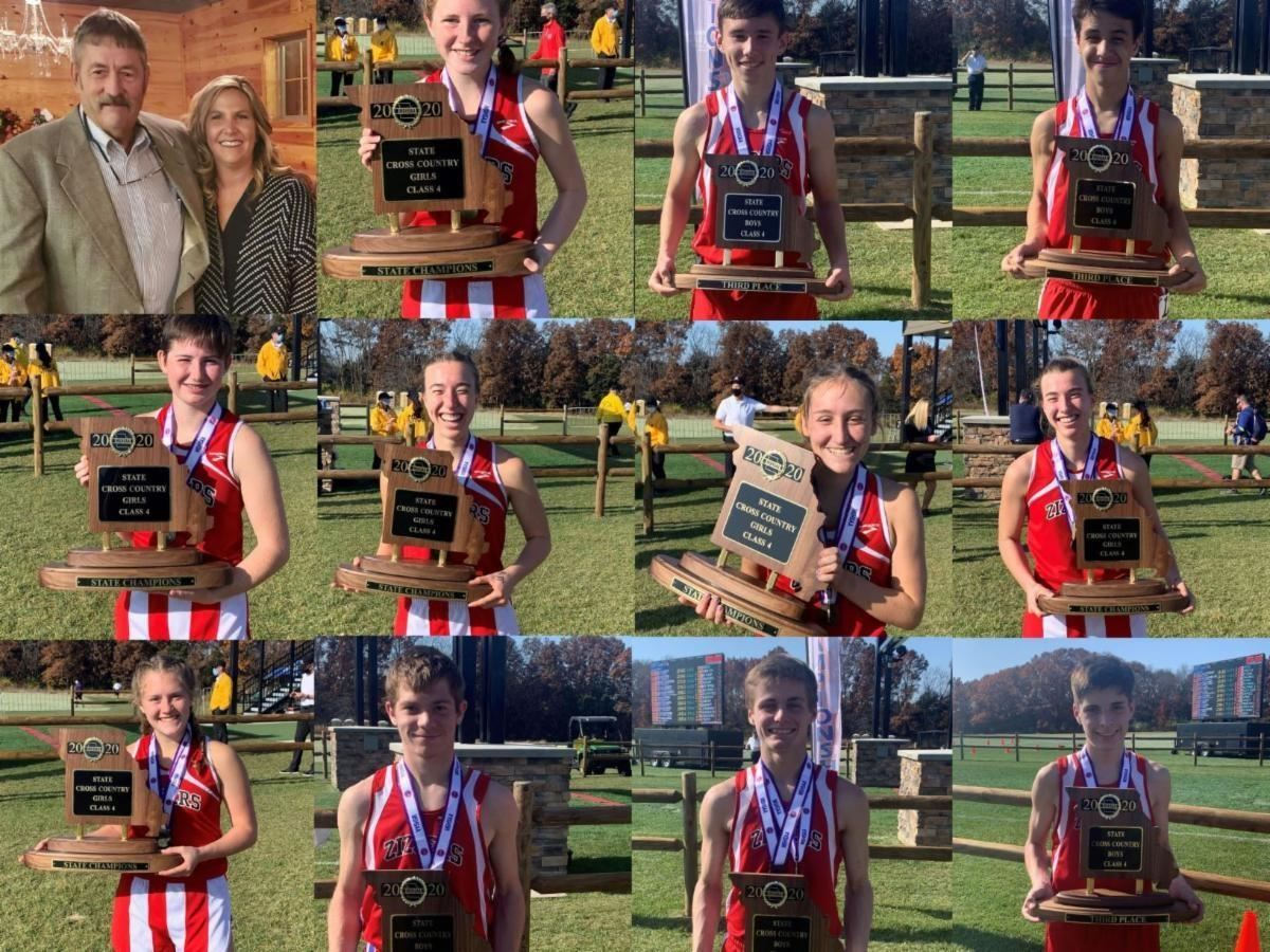 2019 Cross Country State Championship Results