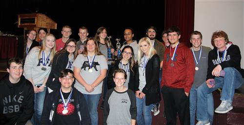 West Plains High School Takes Top Honors in 33rd Annual Interscholastic Contest