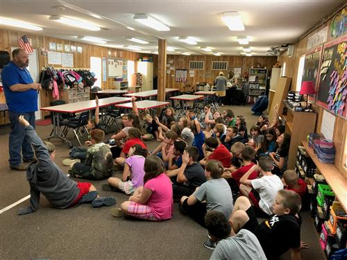 Missouri State Representative Visits 4th Grade