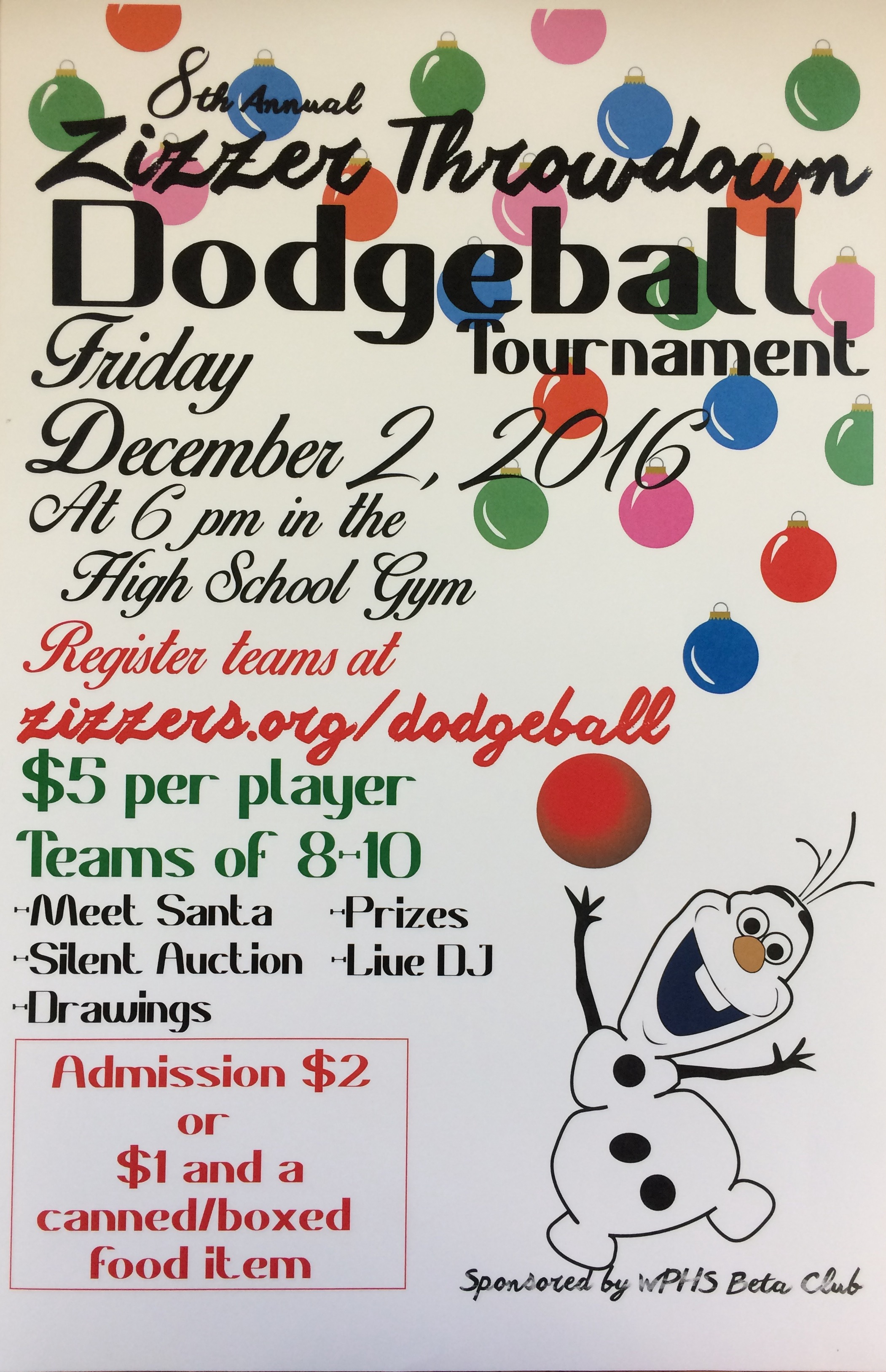 Dodgeball Tournament / Home